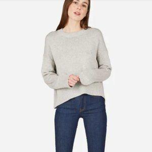Everlane The Soft Cotton Square Crew Sweater